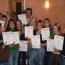 Klasse 6a, Gauting 2006 Projekt Schreiben und Helfen